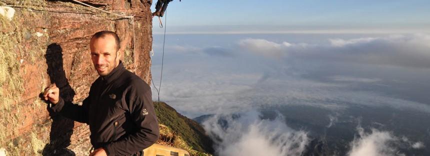 Escalada do Monte Roraima no Fantástico