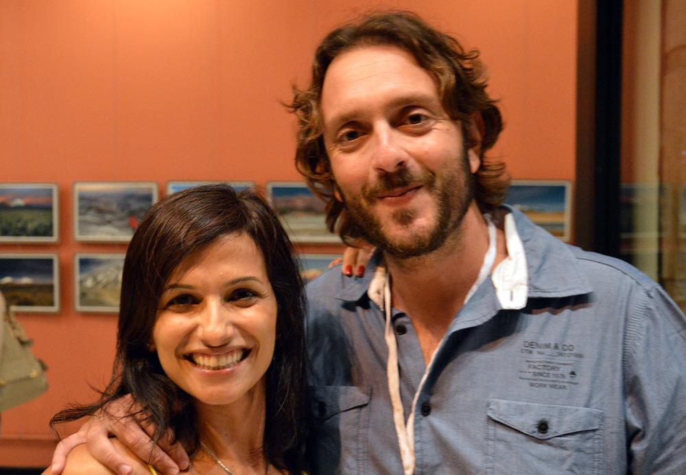 Cassandra Cury e André Dib expuseram imagens de vulcões dos Andes