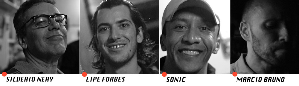 Silverio, Lipe, Sonic e Marcio Bruno comandarão a trip