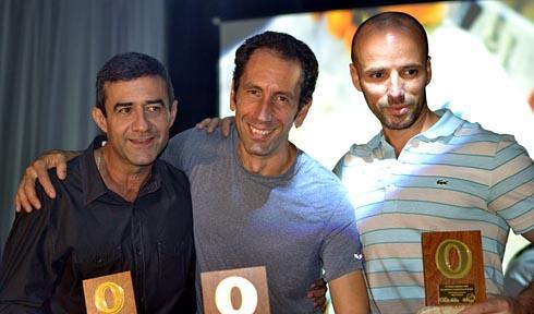 Fernando, Eliseu e Marcio Bruno