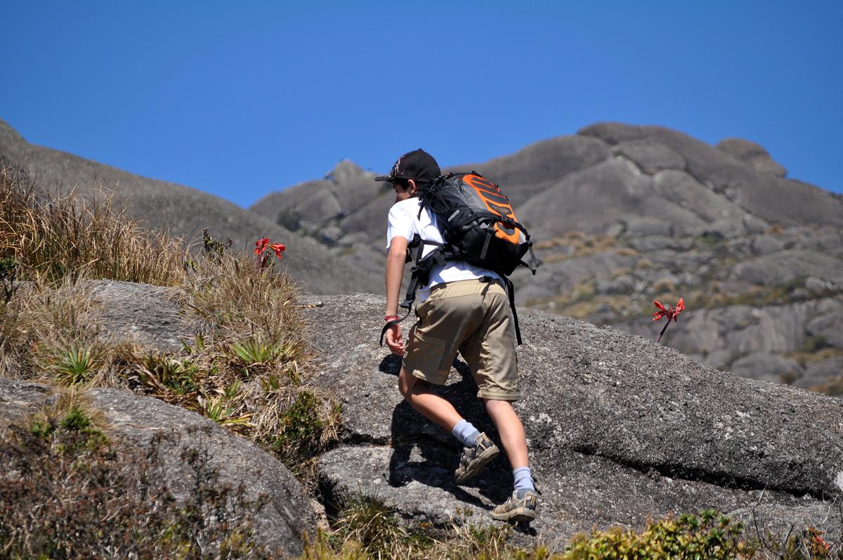 Subida do Pico do Itaguaré.