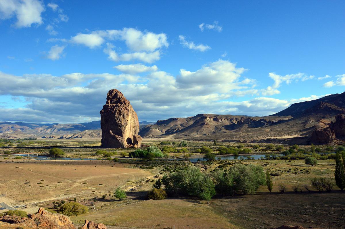 O impressionante monumento natural de Piedra Parada.