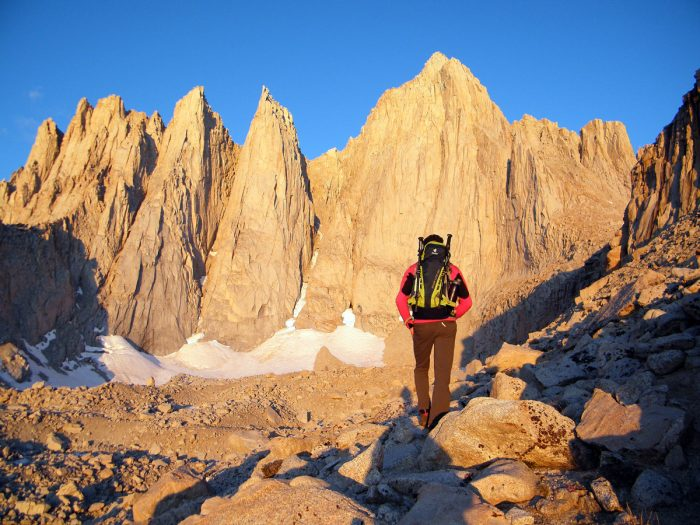 A Guide 32 a caminho do Mount Whitney.