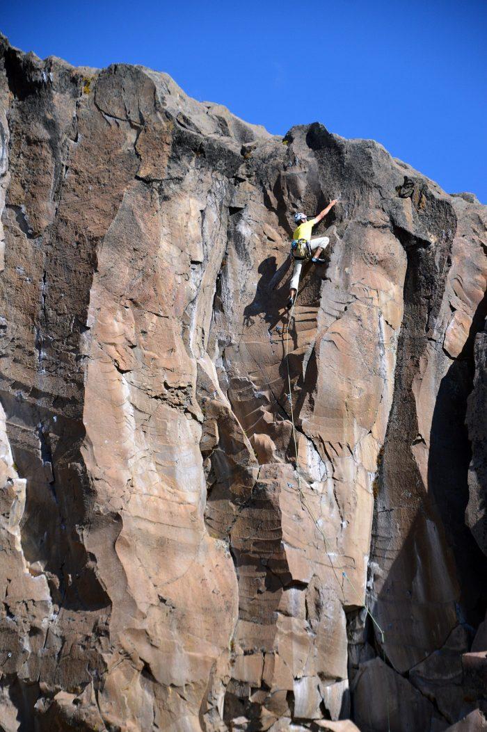 Setor La Gran Pared. Escaladas para você se ambientar antes de andar até as paredes mais distantes.