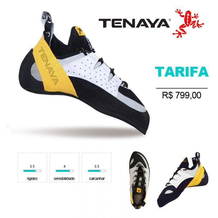 TARIFA - Sapatilha esportiva, com excelente ponteira e calcanhar.