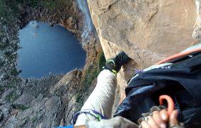 Nova rota na cachoeira do Tabuleiro