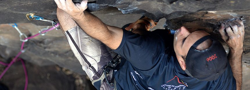 Escaladas em basalto no norte paranaense