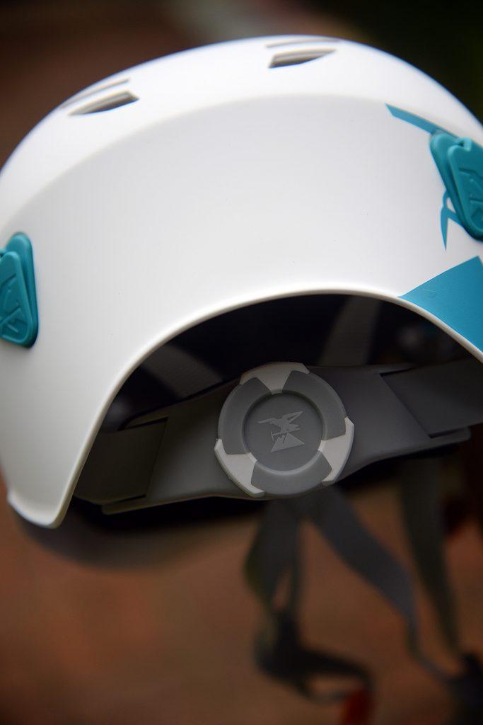 Disco de ajuste do capacete Rocky da SIMOND.