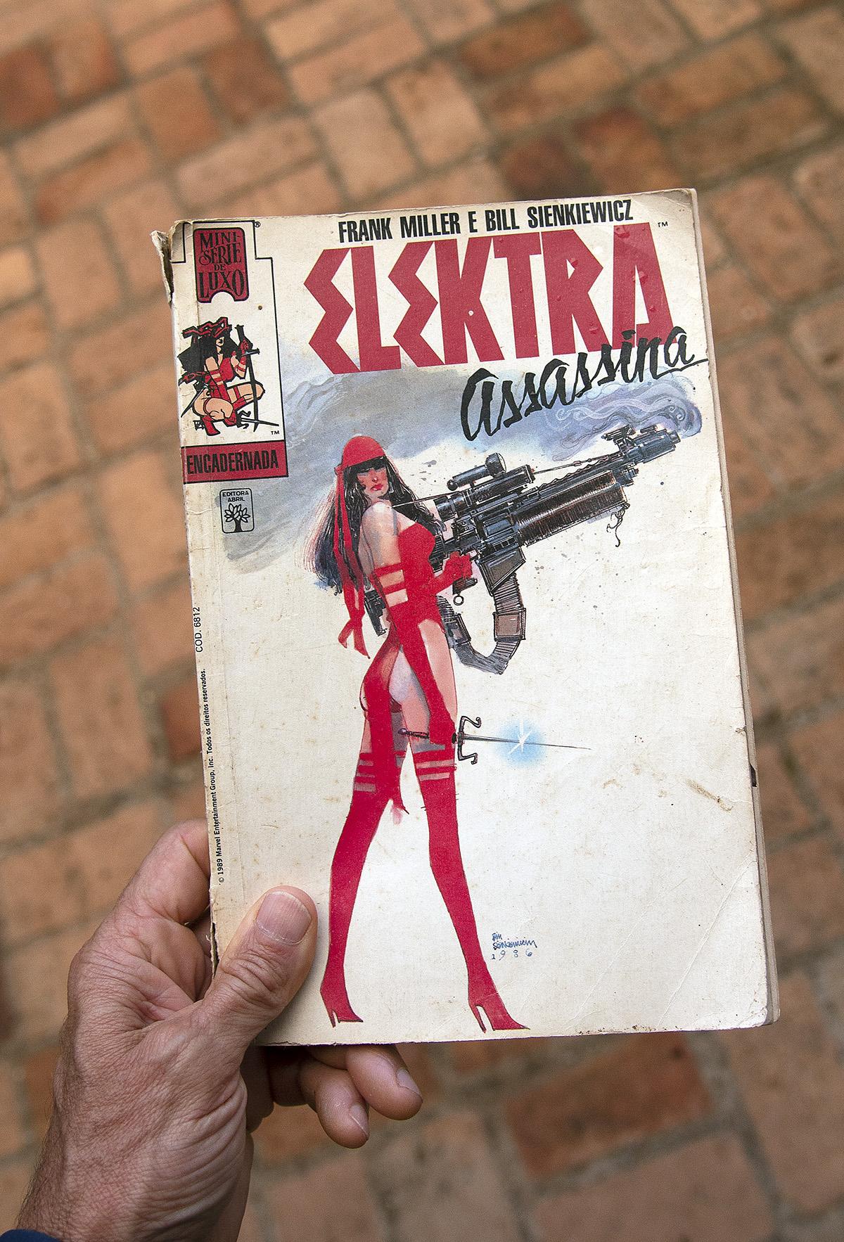 Elektra, de Frank Miller e Bill Sienkiewicz