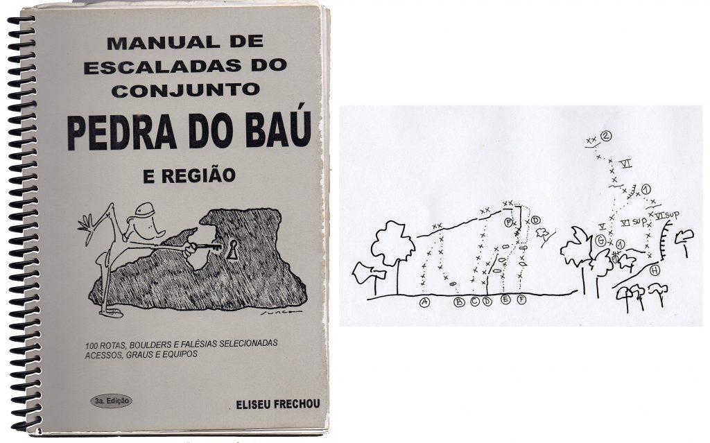"""Terceira edição. !00 vias e a Pedra da Divisa aperece com seu primeiro setor desenvolvido, o """"Falésias""""."""